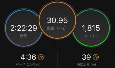 30km走